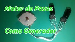 Como usar un Motor de Pasos como Generador Eléctrico