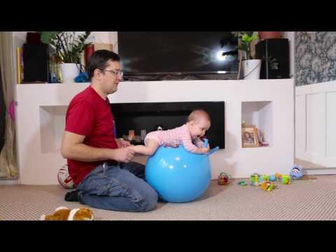 Фитбол для грудничков Упражнения. Советы для детей. Рекомендации