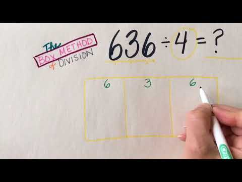 Dividing With The Box Method