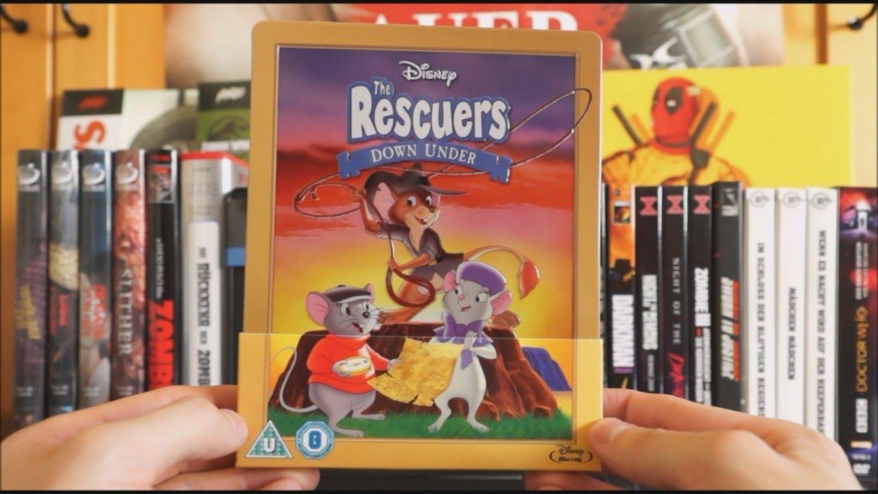 Download THE RESCUERS - DOWN UNDER (UK Blu-ray Steelbook) / Zockis Sammelsurium Nr. 1430