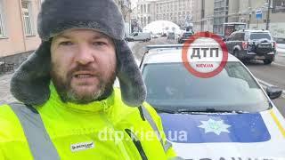 Видео с места полицейской спецоперации по остановке опасного нарушителя:   Киев. Майдан
