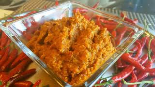 Shutki Chatni With Lau Skin|Shutki Vorta|Sylheti Cooking|শুটকি ভরতা কদুর খুসা দিয়ে