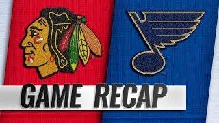 CHICAGO BLACKHAWKS VS ST LOUIS BLUES 10/27/18
