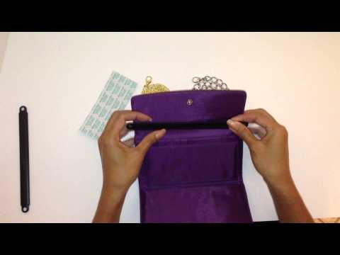 The Wallet Wand - Transform Your Tri-fold Wallet Into A Purse (Instructions Long)