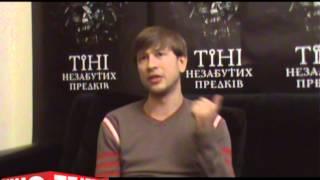 Дмитрий Ступка о фильме Тени незабытых предков