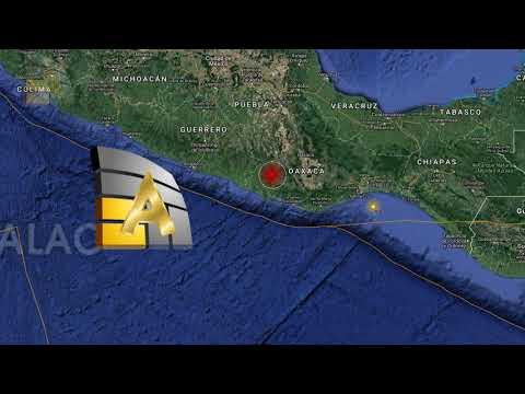 México: Sismo de magnitud 7,5 sacude el centro y sur de México