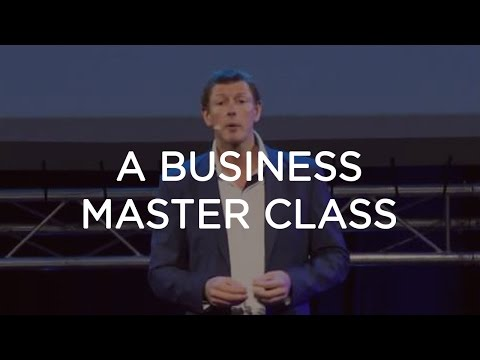 Peter Sage: Gives A Business Master Class at the South Afric