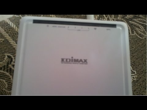 How To Configure Edimax Ar-7186wna ADSL Wifi Modem