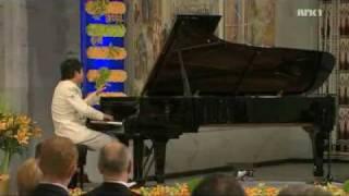 Lang Lang plays Liebestraum, Nobel Peace Price Consert