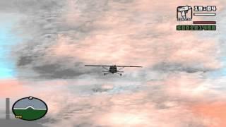 GTA San Andreas. Прохождение: Наглый захватчик / Свободное падение, Рыба в бочке (миссия 78).
