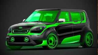 Kia Batman Aquaman Inspired Editions 2012 Videos