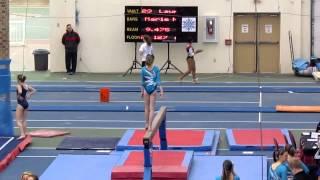 Abby Kaufman - Level 10 Gymnastics - Janet Rothenberg Meet - Bars, Beam & Floor