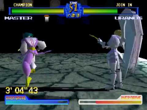 Battle Arena Toshinden 2 Arcade Play As Master Youtube