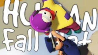 hilarious humans falling   human fall flat w robin