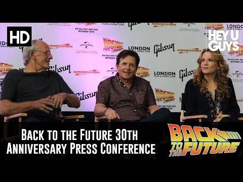 Back to the Future 30th Anniversary Panel - Michael J. Fox, Lea Thompson & Christopher Lloyd