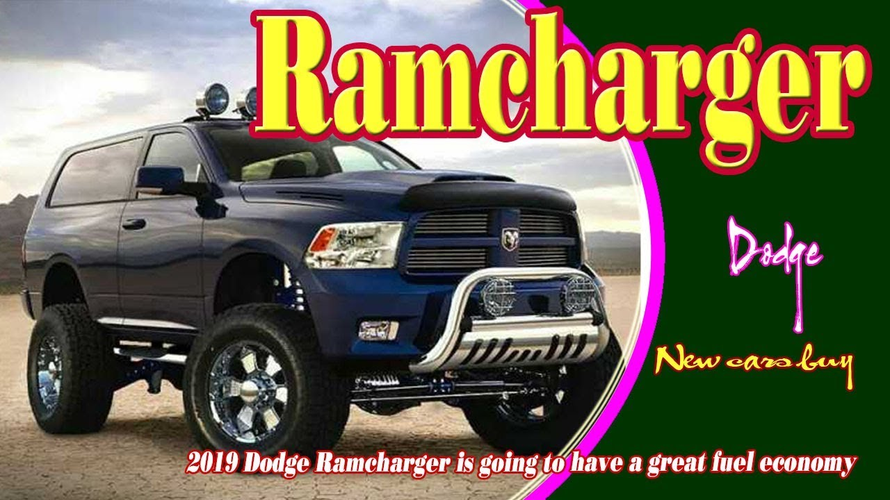 2019 Dodge Ramcharger Concept New