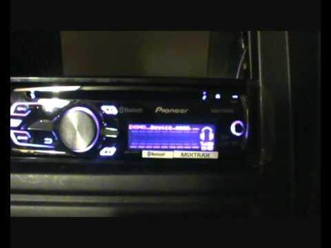 Pioneer DEH-6400BT wwwcaraudioni - YouTube