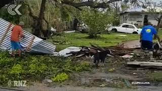 Cyclone Gita 'like a horror movie'