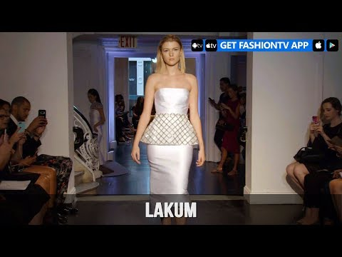 New York Bridal Fashion Week 2018 – Lakum | FashionTV