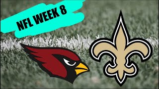 Arizona Cardinals vs New Orleans Saints