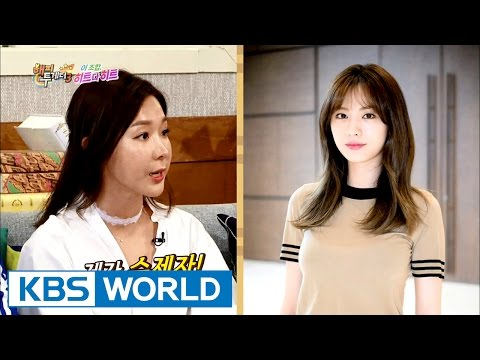 Lee Ji Hye's acting skills taught by Nana's acting teacher [Happy Together/2016.09.01]