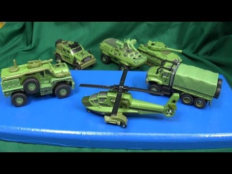 Tonka Strike Force Military Models From Hasbro Funrise Toys