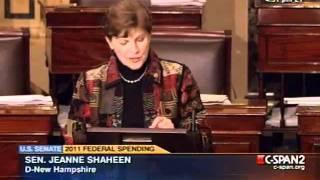 Shaheen:  Unnecessary Shutdown Will Hurt New Hampshire Economy