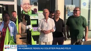 Municipales à Avignon : un hommage rendu au colistier Paulino Felix décédé cette nuit