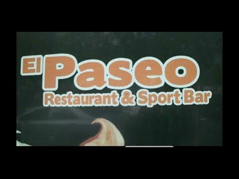 Fui al Restaurante El Paseo. Y me comi: Lo que sea ?????!!!