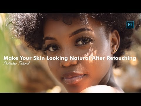 68. Photoshop Tutorial -  Make Your Skin Looking Natural After Retouching thumbnail