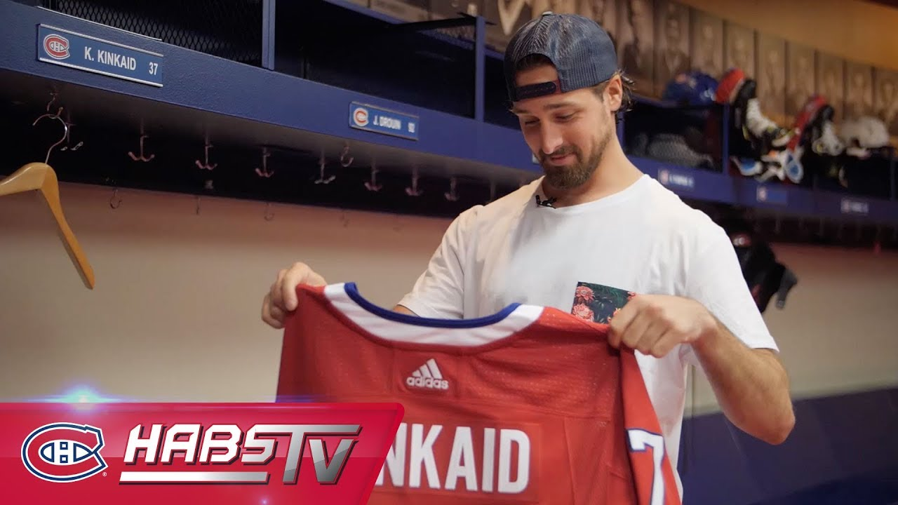 Keith Kinkaid S First Day As A Hab Youtube