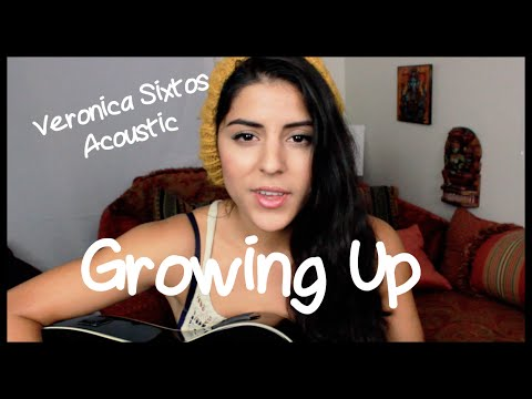 Macklemore & Ryan Lewis - Growing Up - feat. Ed Sheeran [ Veronica Sixtos Acoustic Cover]