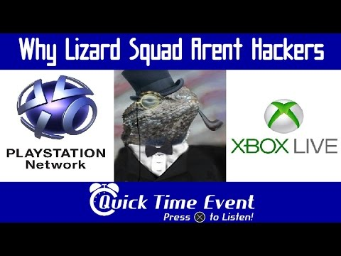 Quick Time Event - 13 - Why Lizard Squad Aren't Hackers