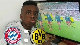 FC Bayern Vs Dortmund LIVEREACTION