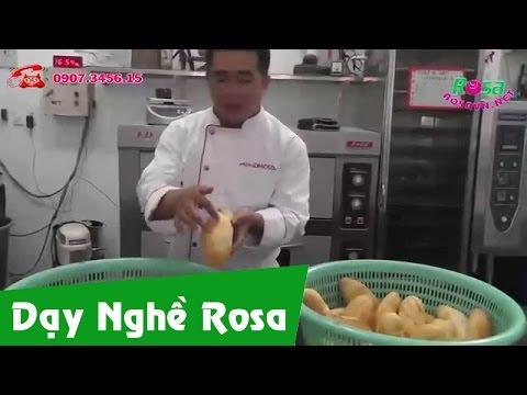 Bánh mì Việt Nam da giòn mỏng vỏ - Vietnam Bread: empty intestines - thin skin