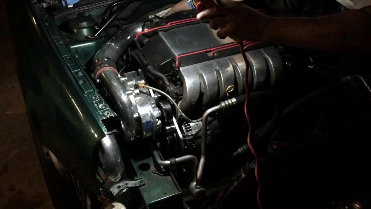 Mk3 vr6 supercharged vortech v1 first start up  18 mile  YouTube