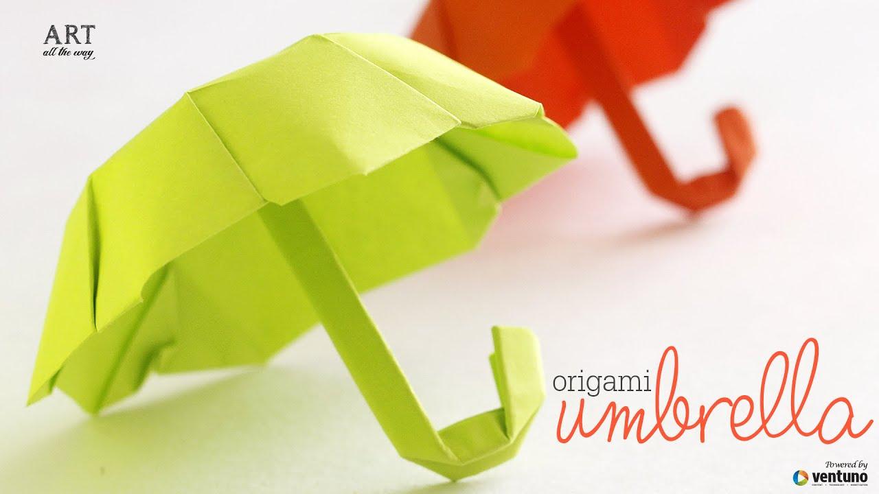 How To Fold Origami Umbrella