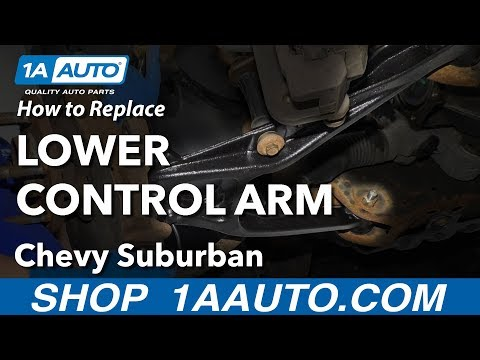 How to Replace Lower Control Arm 07-14 Chevy Suburban
