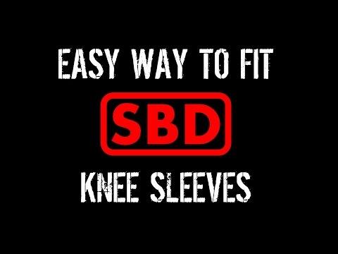 Easy Way to Fit SBD Knee Sleeves