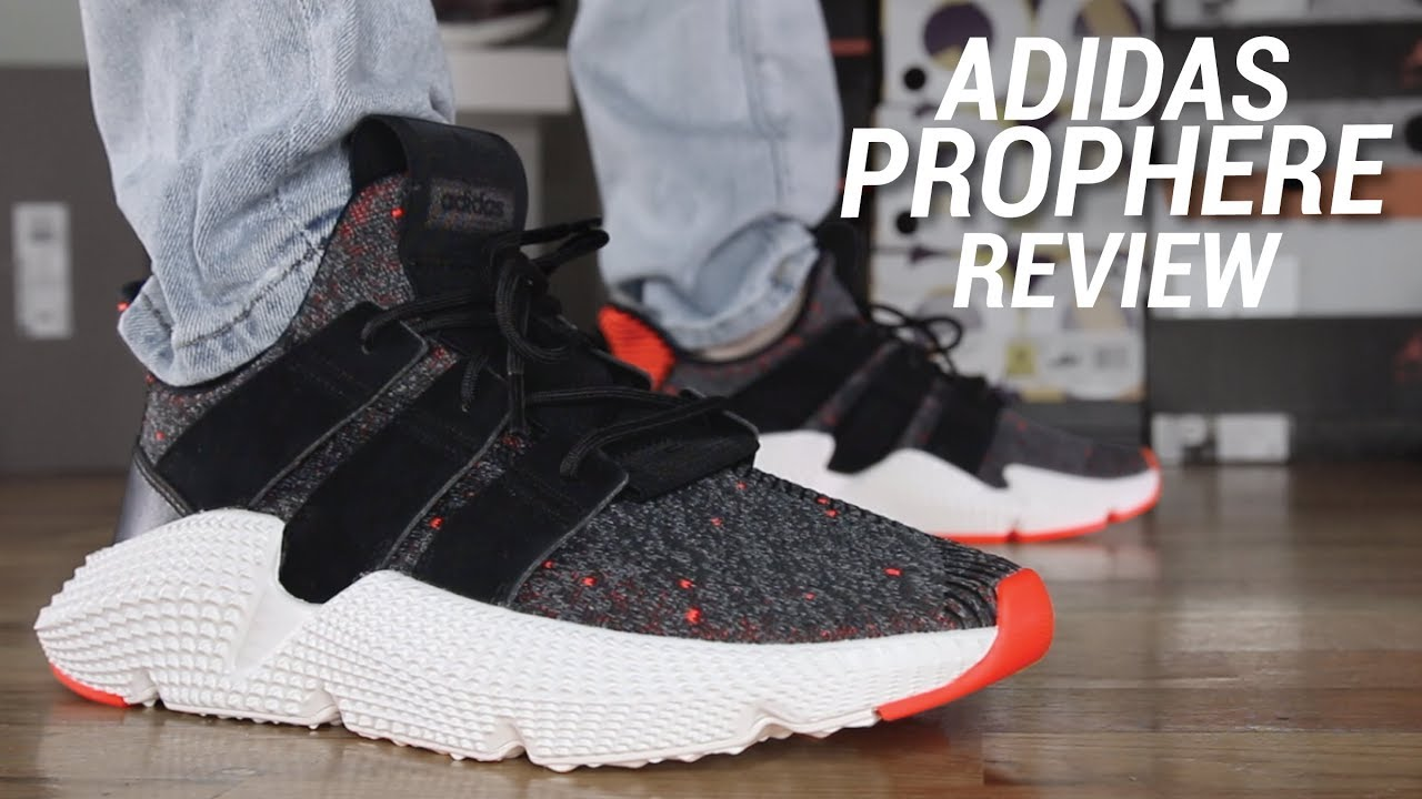 Rebajar comentarista Cita  ADIDAS PROPHERE REVIEW - YouTube