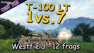 WOT HD: T-100 LT, The Wolf and the Seven Sheep, WORLD OF TANKS
