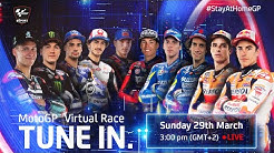MotoGP™ Virtual Race | #StayAtHomeGP