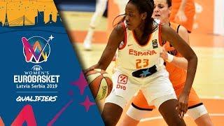 Netherlands v Spain - Full Game - FIBA Women's EuroBasket 2019 - Qualifiers 2019