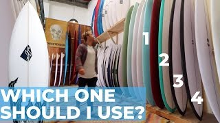 Which Surfboard Should You Buy & Use? |  DETAILED BREAKDOWN | Volume, Shape, Size Etc