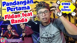 Download Fildan feat Randa - Pandangan Pertama || Amazing REACTION || D'Academy Asia 5