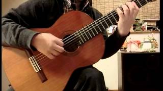 Chopin Nocturne Op.9 No.2 (Guitar solo) ショパン ノクターン