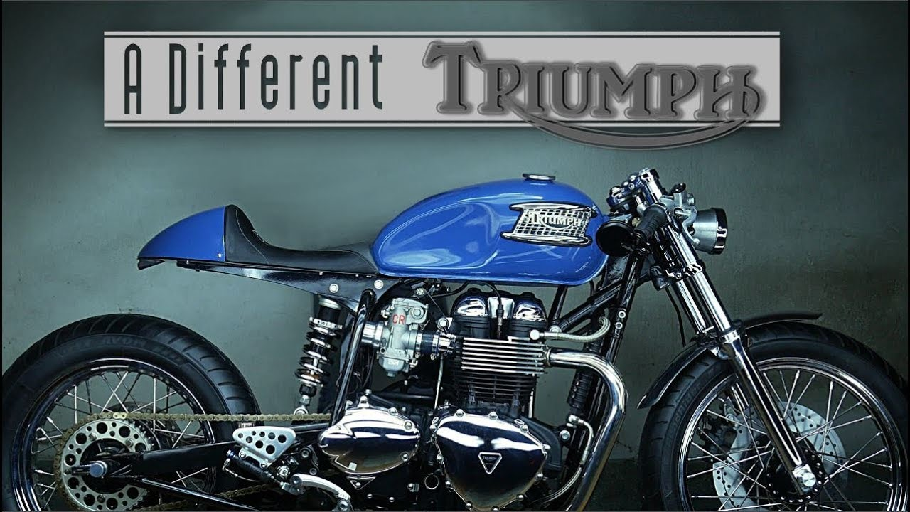 Triumph Cafe Racer >> Cafe Racer Triumph Bonneville By Pi Customs