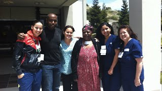 Happy Patient Reunited with Kindred Care Team (Kindred Hospital - San Francisco Bay Area)