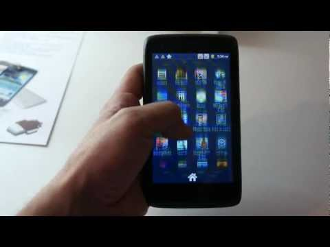 Viewsonic Viewphone 5e hands-on MWC 2012 (Greek)