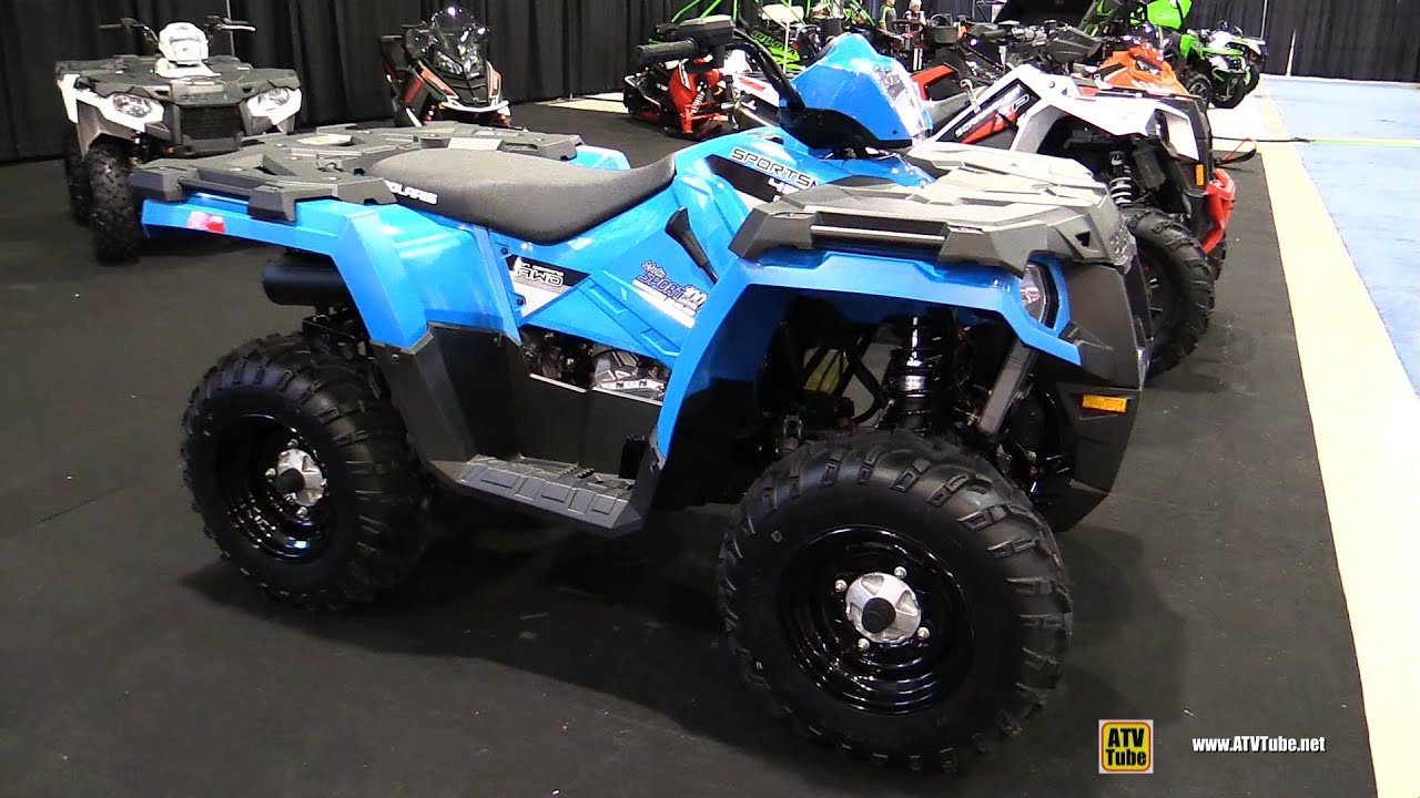 2016 Polaris Sportsman 450 Ho Recreational Atv Walkaround 2017 St Hyacinthe Show